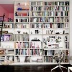 Kako urediti mali stan ako imate puno knjiga