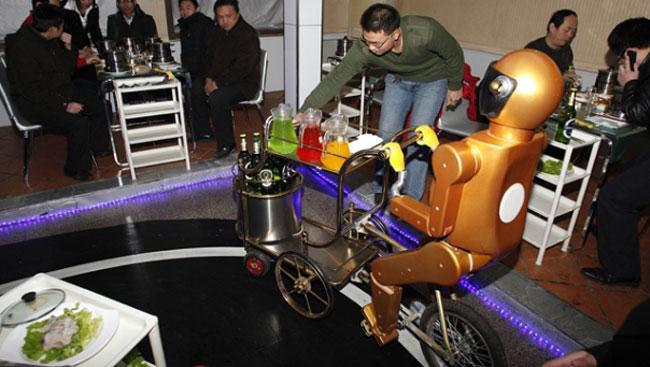 robot restoran