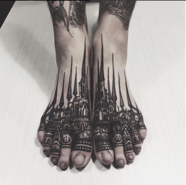 tetovaze i arhitektura