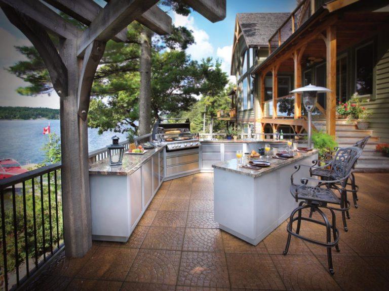 vanjska kuhinja na terasi