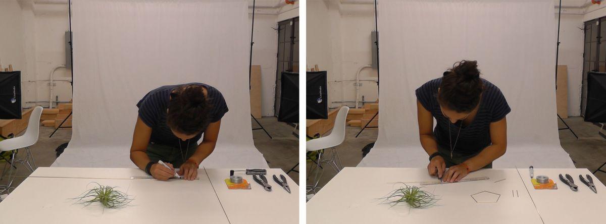 Geometrijski držač za vazdušne biljke (7)