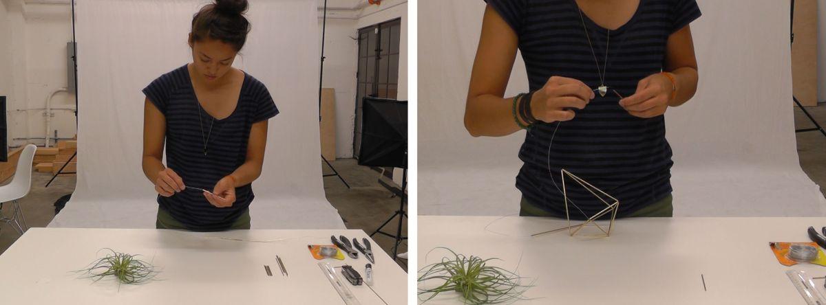 Geometrijski držač za vazdušne biljke (8)