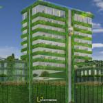 Ovako će izgledati prvi soliter sa zelenom fasadom u Srbiji