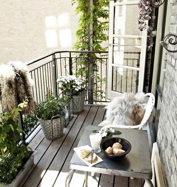 ideje za uredjenje balkona