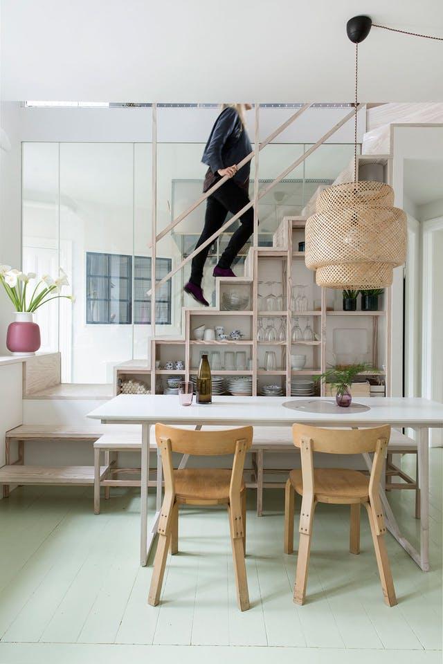kako iskoristiti prostor ispod stepenica