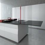 Maksimalno moderna: Kuhinja s ugrađenim tabletom
