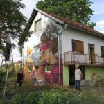 Najoriginalnije ukrašena fasada kuće je u selu pored Kozarske Dubice