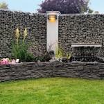 Gabioni u dvorištu: Ideje za klupe, zidove, dekorativne elemente
