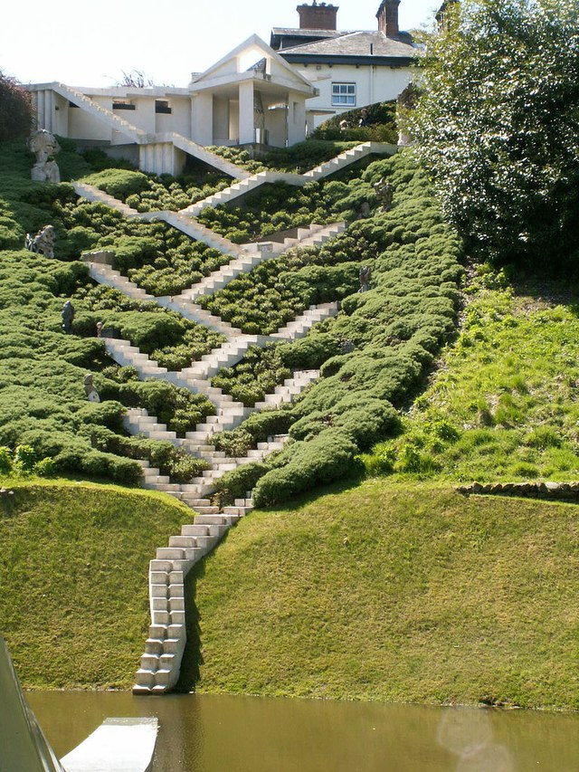kaskadne stepenice