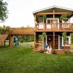 Najbolji tata na svijetu: Građevinac djeci izgradio neodoljivu kućicu za igru u dvorištu