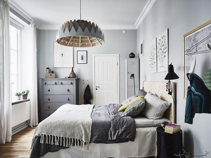 Devet dokaza da je siva najbolja boja za spava u sobu dom info - Decorar habitacion rustica ...