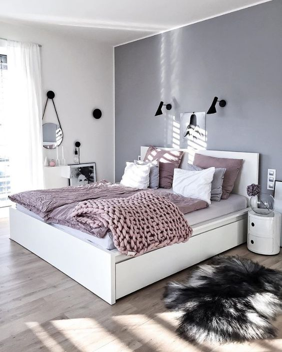Bedroom Design For Teenager White Bedroom Colour Ideas Duck Egg Blue Bedroom Master Bedroom Interior Brown: Devet Dokaza Da Je Siva Najbolja Boja Za Spavaću Sobu
