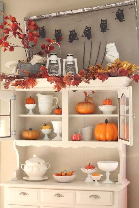 dekoracije od jesenjeg lisca
