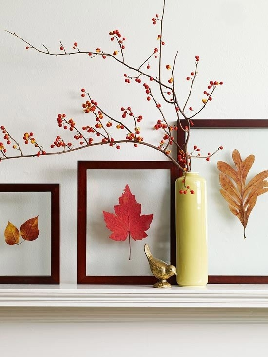 jesenje lisce dekoracije ideje