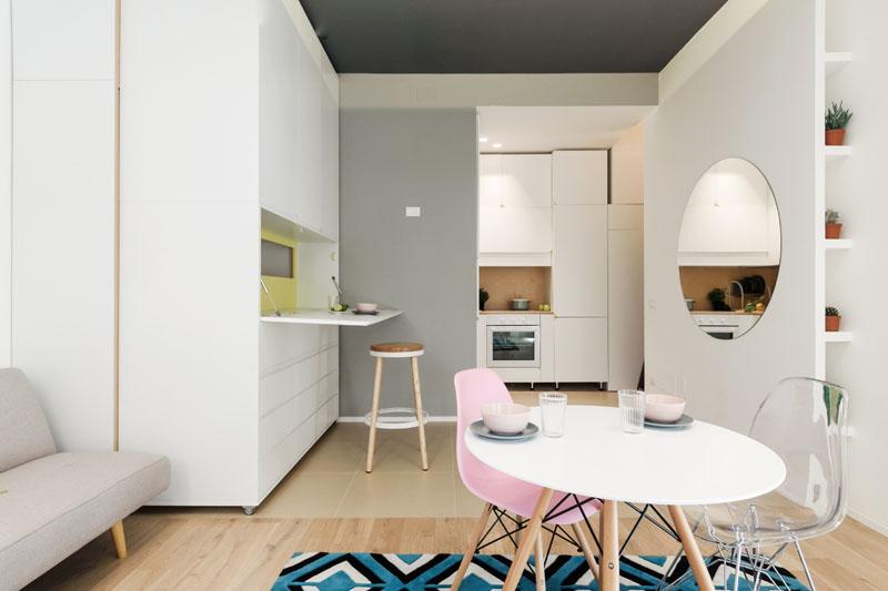 moderan dizajn malog stana