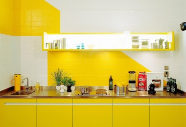 zuta kuhinja ideje
