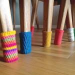 Pod bez ogrebotina: Napravite čarape za nogare stolova i stolica