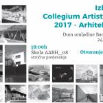 Izložba Collegium Artisticum 2017 – Arhitektura u Banjaluci