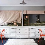 Dječije carstvo: Kreveti s ugradbenim ormarima