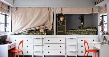djecji kreveti s ugradbenim ladicama