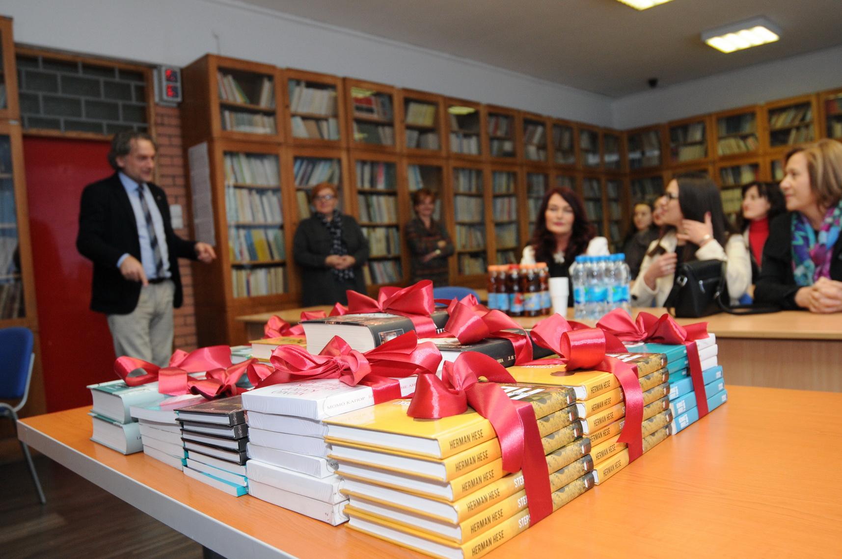 donirane knjige