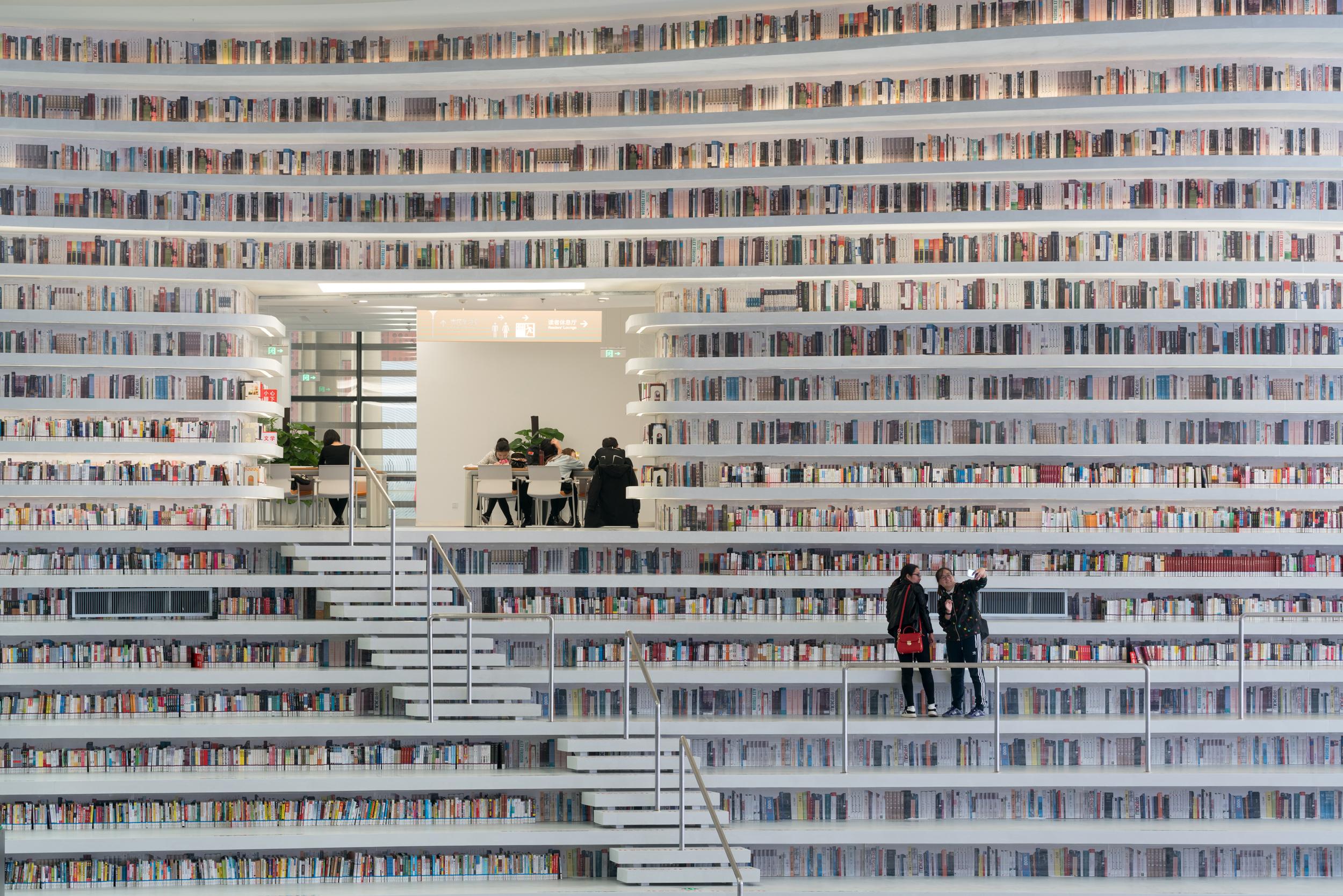 spekstakularna biblioteka u kini