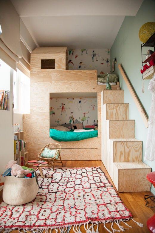 ugradbeni ormarici u djecje krevete