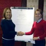 Članice kluba Inner Wheel Banjaluka uručile donaciju karatistkinji Sari Roljić
