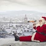 Švedski krovovi mogu podnijeti težinu sanki Djeda Mraza