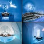 Zavirite u švedski hotel od leda