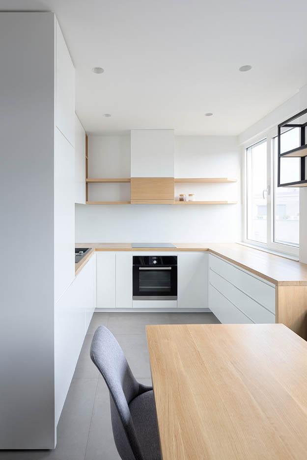 minimalisticka kuhinja