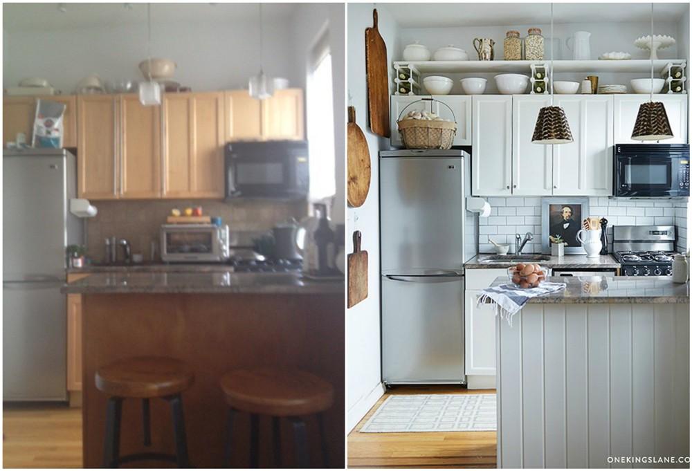 obnova kuhinje bojom