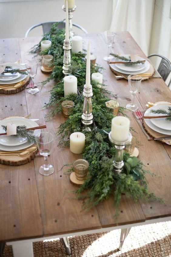 zimzeleni dekori