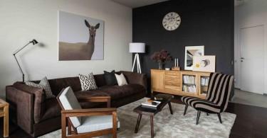 3-contemporary-Scandinavian-style-interior-design-gray-beige-black-wall-white-brown-living-room-lounge-sofa-wood-corkwood-floor-with-digital-printing-arm-chair-hinged-lamp-animalistic-deer-painting-c