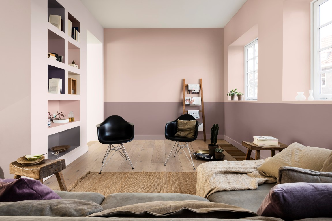 Dulux-CF18-__Blossom-Tree-Rose-Bark-shelves-in-Pine-Cone-Fallen-Burr-Pink-Parchment-Heart-Wood-Blackberry