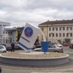 Mlijekoproduktova donacija opštini Kozarska Dubica: Novi kružni tok u centru grada