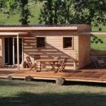 Kako izgleda brza gradnja kuće od drvene cigle