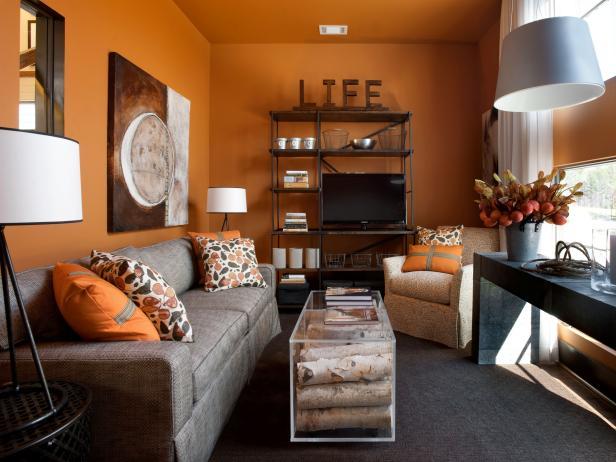 narandzasta dnevna soba