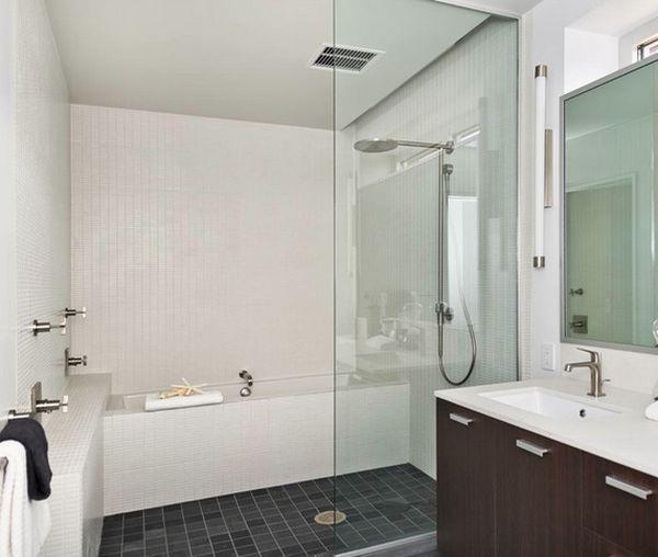 staklena pregrada u kupatilu