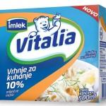 Od sada i sa 10 odsto mliječne masti: Kuhajte sa lakoćom uz novo Vitalia vrhnje za kuhanje
