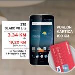Pređi na pretplatu: Sjajna prilika za 100 KM na Addiko Visa poklon kartici i telefon ZTE Blade VS za samo 3,34 KM mjesečno