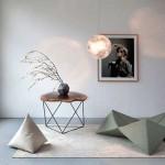 Namještaj naglašene geometrijske forme garantuje svjež i moderan ambijent