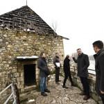Počinje obnova ulazne kule na tvrđavi Kastel