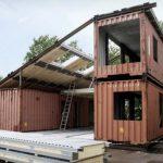 Od tri kontejnera napravio vilu