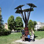 U centru Banjaluke postavljeno solarno drvo