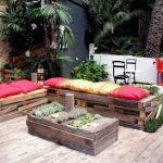 19 ideja za izradu vrtnog namještaja od paleta