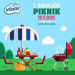 Mlijekoprodukt sponzor 2. Banjalučkog piknika: Porodično druženje uz omiljene Vitalia proizvode