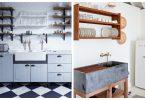 kuhinjske police s dvostrukom funkcijom