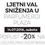 Ljetni val sniženja u parfumeriji Plaza