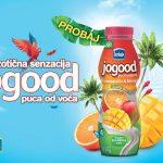 Mlijekoprodukt lansirao na tržište novi ukus Jogood jogurta: Omiljeni napitak od sada sa ukusom pomorandže i manga